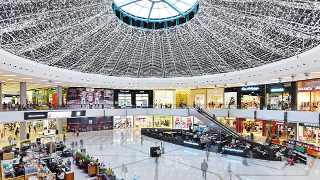 Dubai-Marina-Mall-Lighting-Project